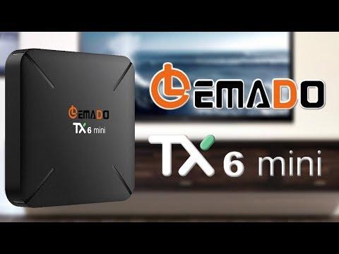 TV Box Tanix TX6 4GB/32GB, Android 9 0, 6K, LED digital