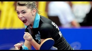 Finala campionatului european tenis de masa Romania Germania 2013