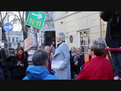 Katherine Zappone 2015 childcare rally speech