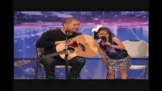 Amazing 7 Year Old Alexa Narvaez Sings Home In a Duet With Dad Jorge