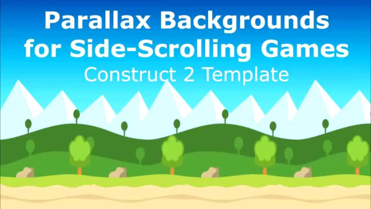 Parallax Backgrounds For Side Scrolling Game Construct2