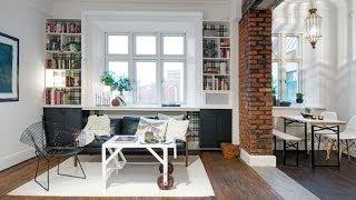 Маленькие апартаменты в скандинавском стиле