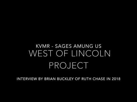 Part 2 KVMR Radio Interview for West of Lincoln 2018 Project