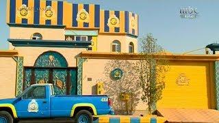 """بالفيديو.. مواطن يحول منزله لـ """" قلعة نصراوية """" - صحيفة صدى الالكترونية"""