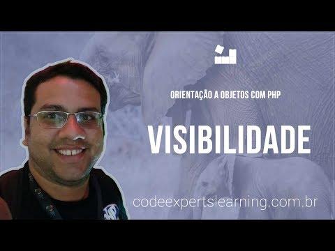 Vídeo no Youtube: [Orientação a Objetos com PHP] - 4 Visibilidade #php #oo