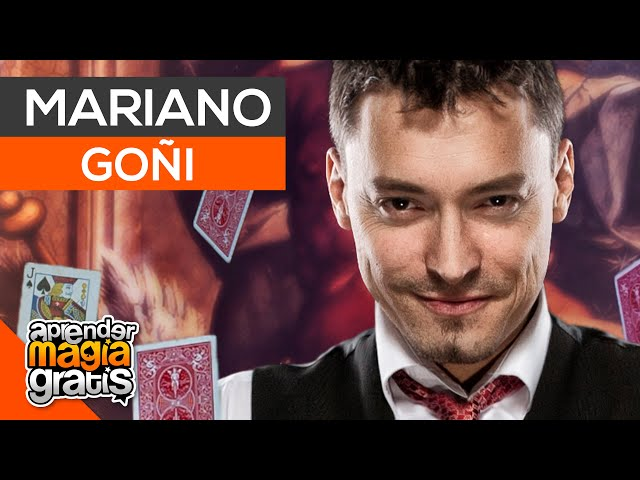 Entrevista a Mariano Goñi   Aprender magia gratis