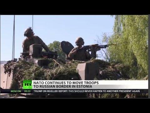 NATO troops headed to Estonia