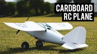RC Plane made from Cardboard and Foam