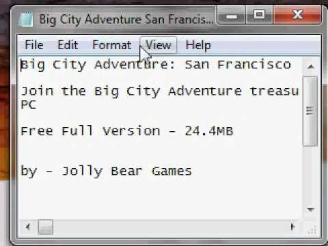 How To Download Big City Adventure San Francisco
