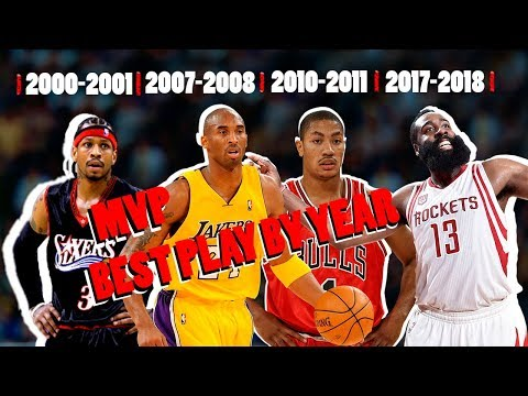 NBA Best MVP Play By Year (2000 - 2018)
