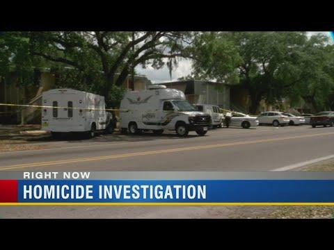 Homicide investigation underway in North Tampa