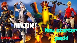 Fortnite-Ninjonok, Kitten Pet, new Starter Pack! V 8.10!