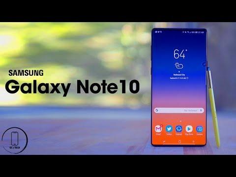 Samsung Galaxy Note 10 - CRAZY Leaks!