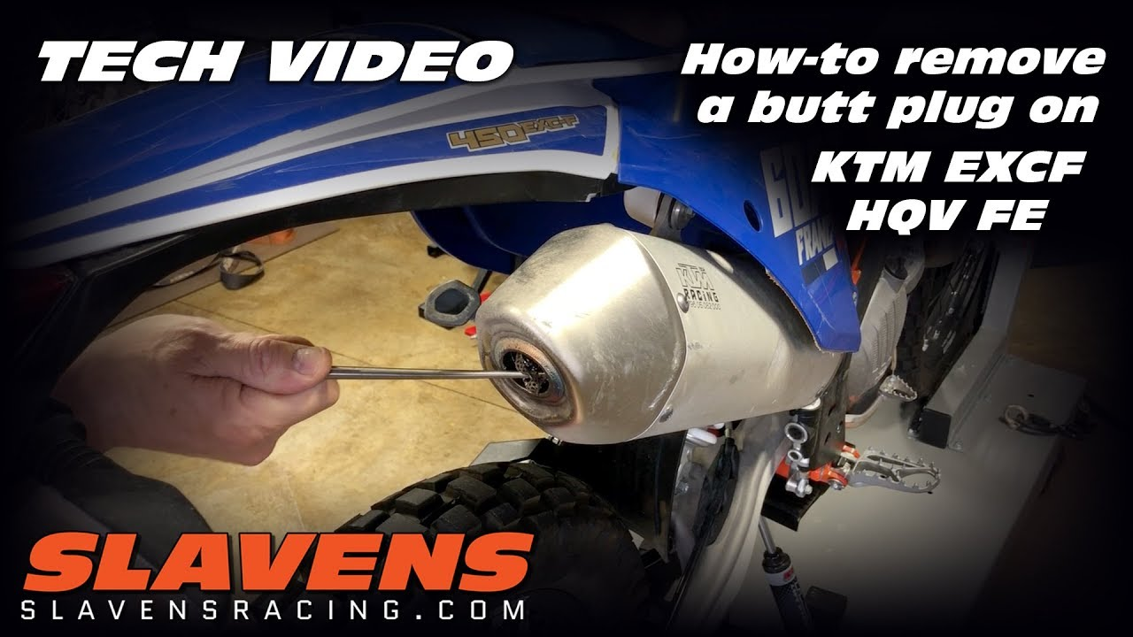 How to remove a butt plug