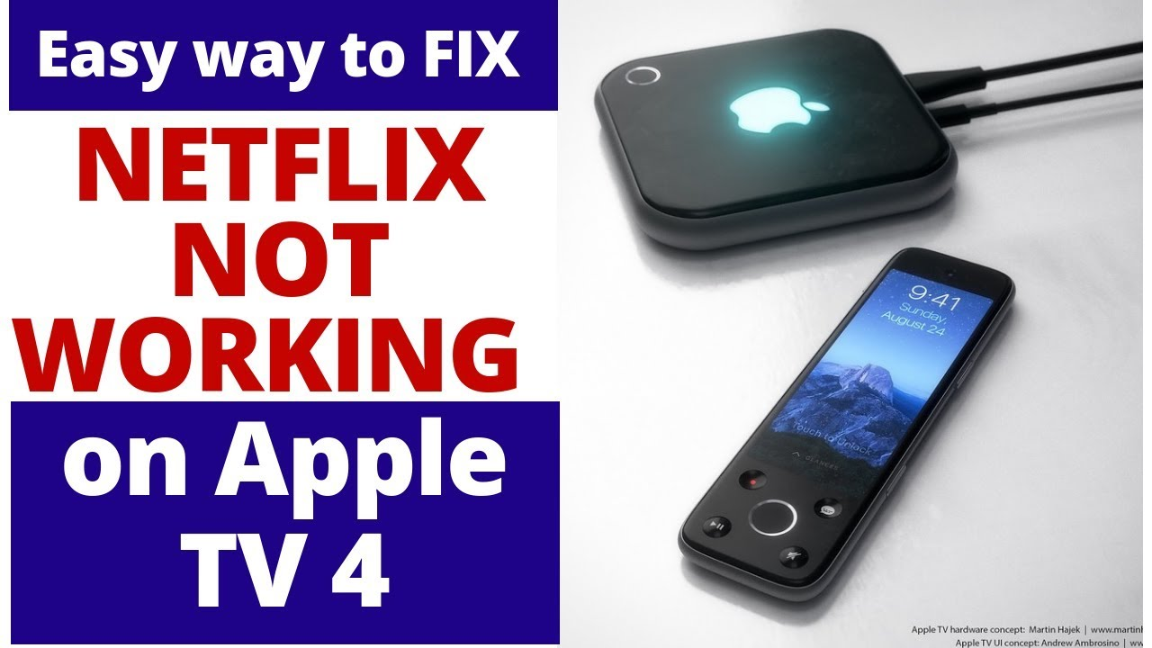 How to Fix Apple TV NETFLIX Not Working | Most Common Apple TV 4 problems  and fixes