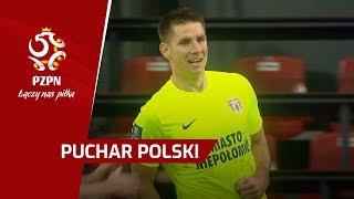 Bramki 1/8 finału, kontry Puszczy i najlepsi rundy