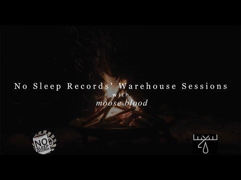 Moose Blood - Bukowski ( Acoustic session )