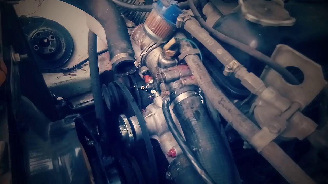 Снятие термостата с Волги 3110 с 402 двигателем