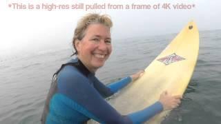 Surfing W/ Wearable Panasonic A500 Video Camera