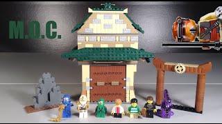 Lego Ninjago Darkley's School For Bad Boys MOC
