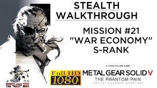 Metal Gear Solid V: The Phantom Pain Stealth Walkthrough - Mission #21 S-RANK