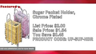 Sugar Caddies-Most Popular Commercial and Restaurant Supplies