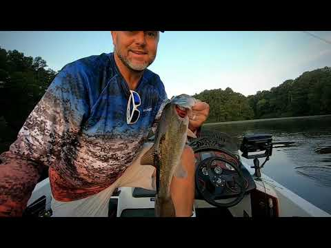 Bass Fishing Welsh Reservoir: Topwater Fury On A East Texas Power Plant Lake