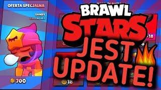 JEST UPDATE  SANDY ZA 700 GEMÓW  BRAWL STARS POLSKA  (odc.80)