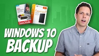 How to backup your stuff in Windows 10