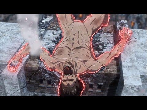 ▸Эрен ПРОТИВ Колоссального титана // Вторжение гигантов 3 СЕЗОН [HD]