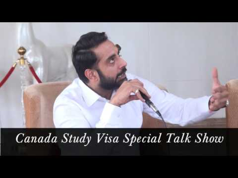 Canada Study Visa Special Talk Show by Gurinder Bhatti - Immigration Expert.