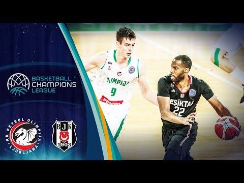Petrol Olimpija v Besiktas Sompo Japan - Full Game - Basketball Champions League 2018-19