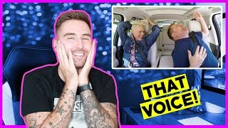 P!NK Carpool Karaoke - REACTION | thatsNathan