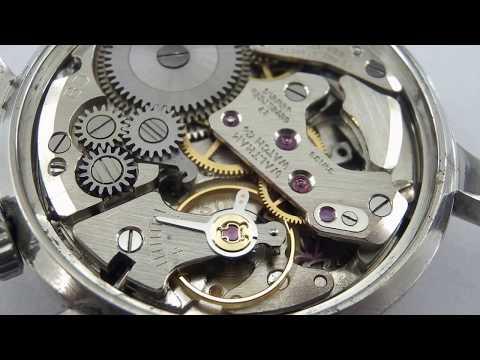 Waltham watch alarm movement cal.S05 running.
