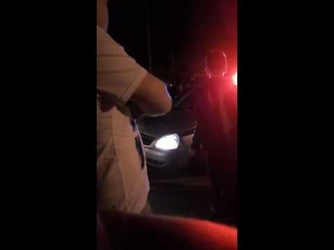 Сын сити-менеджера Чебоксар допрашивается в полицейской машине