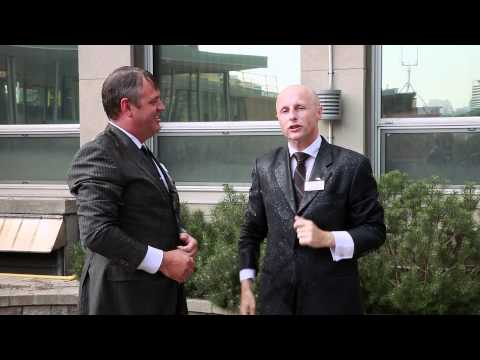 ALS Ice Bucket Challenge - TTC's Andy Byford and Brad Ross