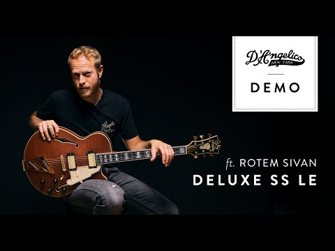 Deluxe SS LE Demo with Rotem Sivan   D'Angelico Guitars