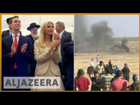 🇵🇸 Deadliest Gaza protests in weeks amid US embassy move | Al Jazeera English