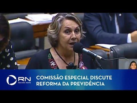 Comissão especial discute reforma da Previdência