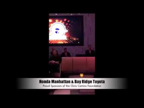 Honda Manhattan & Bay Ridge Toyota Sponsors of Chris Carrino Foundation