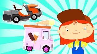 La Doctora McWheelie y los coches infantiles. Vídeos de juguete para niños.