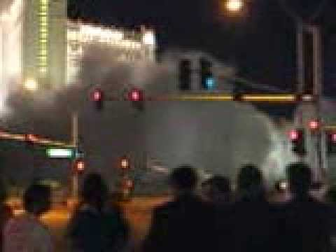 Boardwalk Casino Implosion in Las Vegas
