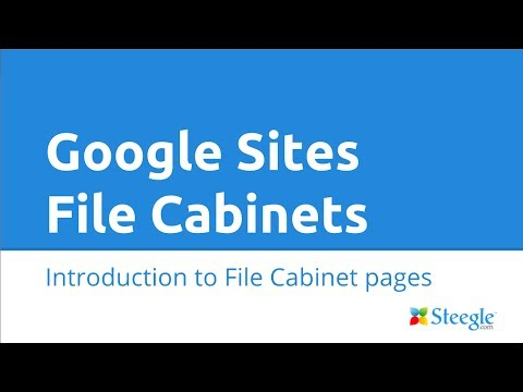 Google Sites - File Cabinet