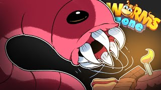 A MINHOCA GIGANTE RETORNA l Wormszone.io