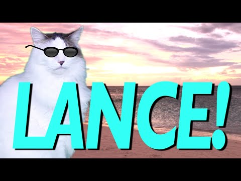 Happy Birthday Lance Epic Cat Happy Birthday Song Youtube