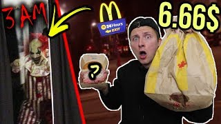 *SCARY* DONT SPEND 6.66$ AT MCDONALDS AT 3 AM!!! (SOMETHING IS WRONG WITH MY BURGER!)
