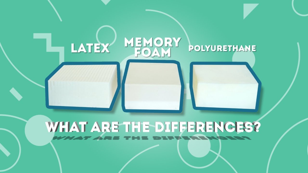 Memory Foam Versus Latex Talalay Latex Memory Foam And Polyurethane What Are The Differences