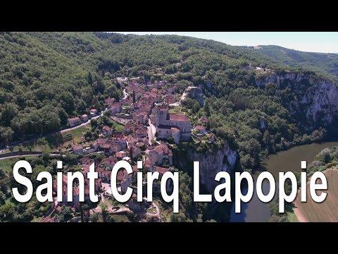 Saint Cirq Lapopie - Lot (46) - France - Vue du Ciel Drone Expert