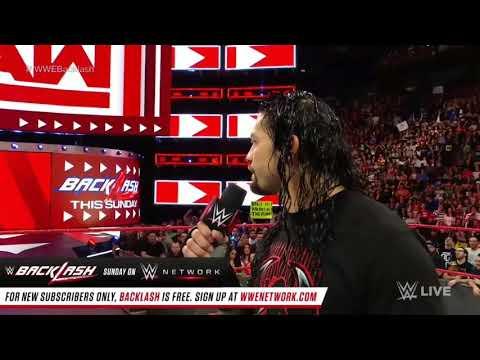 WWE RAWwith Roman Reigns Bhojpuri song