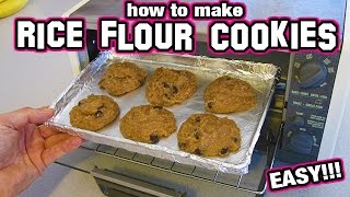 How To Make Rice Flour Cookies Easy Recipe Small Batch Chocolate Chip Gluten Free